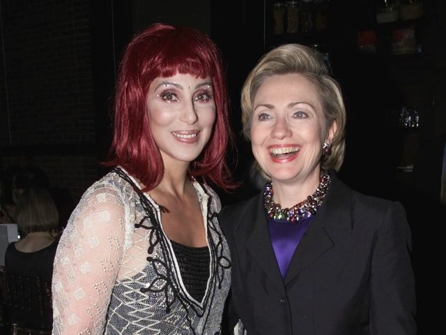 Cher and Hillary Clinton Team for 'Sip Tea and Elect Democrats' Fundraiser