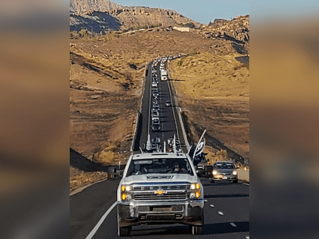 VIDEO: Utah 'Trump Train' Caravan Stretches for Six Miles