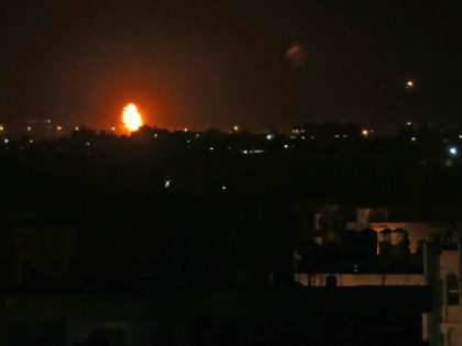 Israel Warplanes Strike Gaza After Hamas Terrorist Rocket Fire