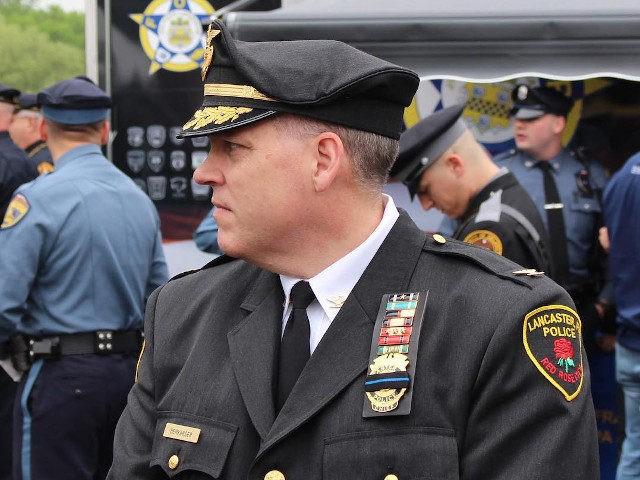 Lancaster Bureau of Police Chief Jarrad Berkihiser