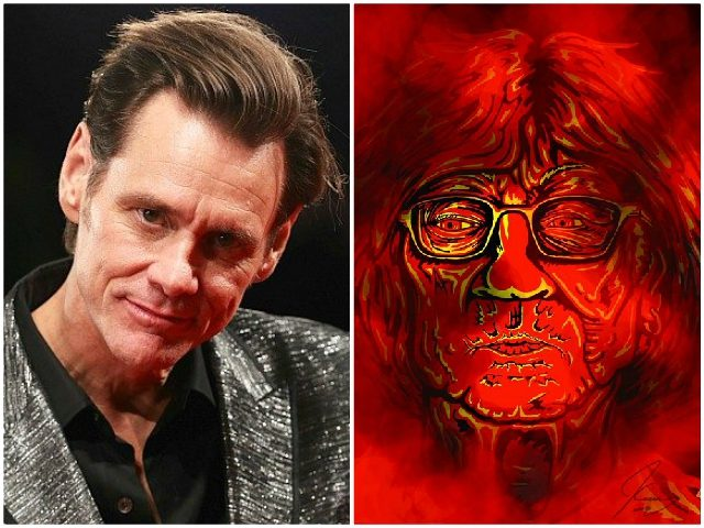 Jim Carrey Art Dooms Sen. Susan Collins to Hell in 2020