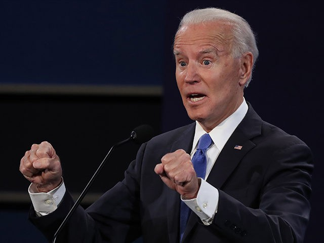Fact Check: Biden Claims Giuliani Is 'Being Fed Information That Is Russian'