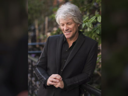 """Jon Bon Jovi poses for a portrait in New York on Sept. 23, 2020 to promote his new album """"2020"""". (Photo by Drew Gurian/Invision/AP)"""