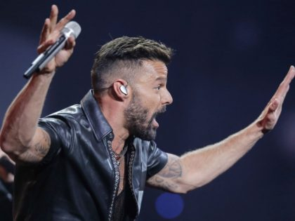 Ricky Martin Attacks Latinos for Trump: Seeing Their Support Is 'Really Scary'