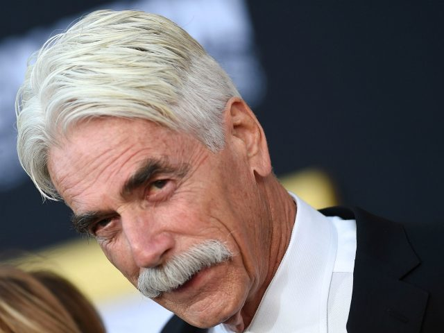 "Actor Sam Elliott attends the premiere of ""A star is born"" at the Shrine Auditorium in Los Angeles, California on September 24, 2018. (Photo by VALERIE MACON / AFP) (Photo credit should read VALERIE MACON/AFP via Getty Images)"
