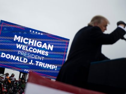 Donald Trump in Michigan: 'I'm Working My Ass Off'