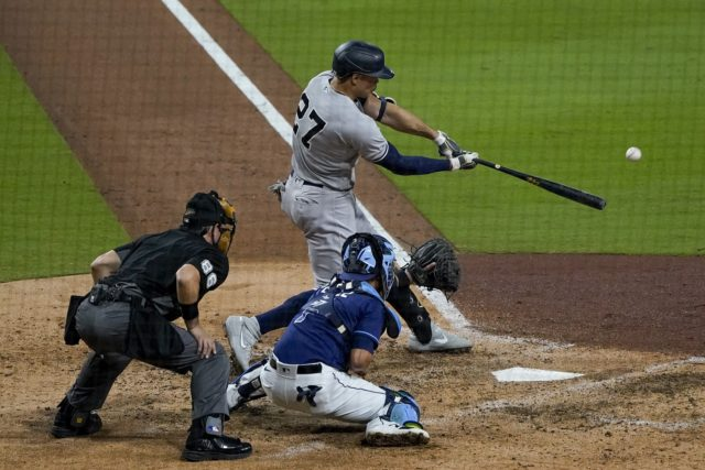 Stanton, Yankees power way to 9-3 win against Rays in ...