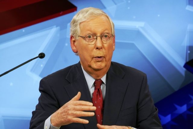 McConnell slates October revote on GOP COVID relief plan ...