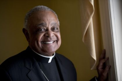 This Sunday, June 2, 2019, file photo shows Washington D.C. Archbishop Wilton Gregory posed for a portrait following mass at St. Augustine Church in Washington. Pope Francis has named 13 new cardinals, including Washington D.C. Archbishop Wilton Gregory, who would become the first Black U.S. prelate to earn the coveted …