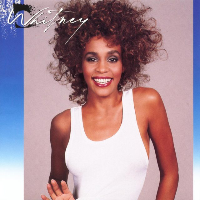"""This cover image released by Arista Records shows """"Whitney"""" by Whitney Houston. The late singer has earned her third diamond certified album, becoming the first Black artist to achieve the feat. The Recording Industry Association of America (RIAA) and Legacy Recordings announced Wednesday that Houston's 1987 sophomore album, """"Whitney,"""" has …"""