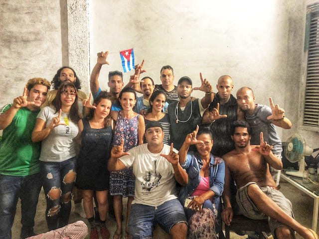 The San Isidro Movement, a Cuban dissident artist collective