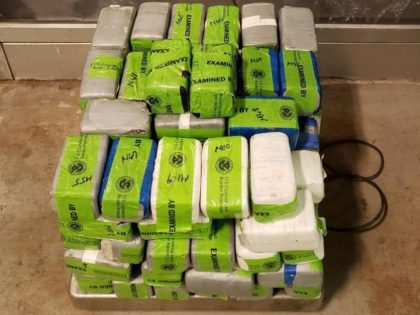 CBP officers in South Texas seized nearly $3 million in methamphetamine and heroin and a U.S.-Mexico border crossing. (Photo: U.S. Customs and Border Protection)