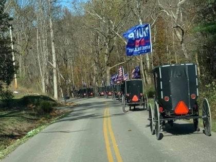 Amish Trump Train