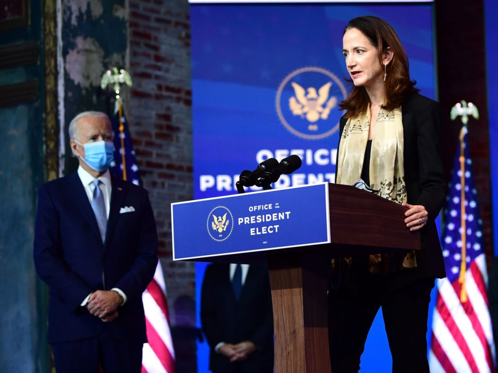 Avril Haines, Biden's Intel Pick, Signed J Street Letter Pushing Democrats to Criticize Israel in Platform