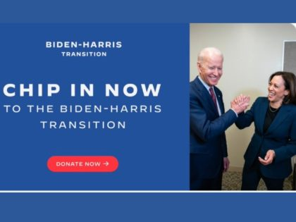Biden Fundraises for Transition