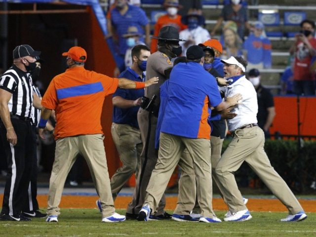 Players Ejected From Florida-Missouri Game Following On-Field Brawl