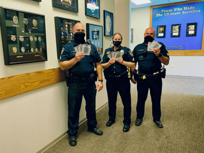 A huge Thank You to the person who stopped by and anonymously donated more than $400 worth of Chipotle gift cards for our officers! We are very grateful for your selfless act of generosity! What an amazing community🙌