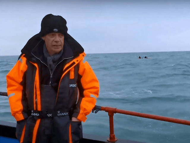 Nigel Farage Saves Two Migrants from Drowning in English Channel