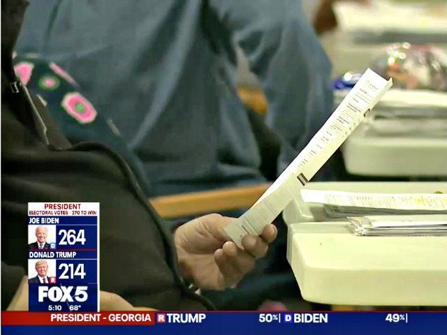 GA County Vote Count Glitch