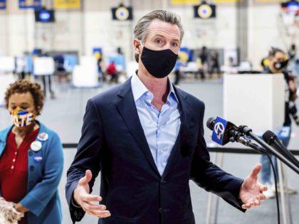 Gavin Newsom (Noah Berger / Associated Press)
