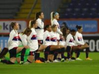 U.S. Women's Soccer Team Wears Black Lives Matter Jackets to International Match