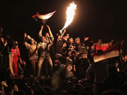 <> on February 11, 2011 in Cairo, Egypt.
