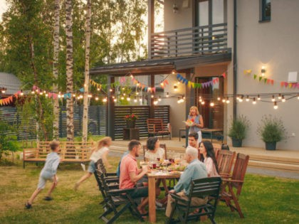 Big Family Garden Party