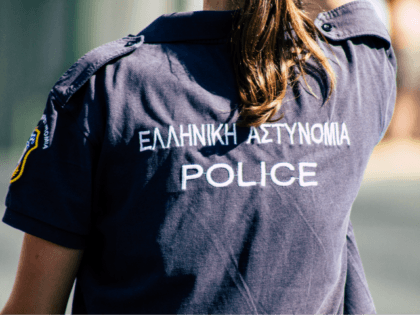 Greek policewoman 2019