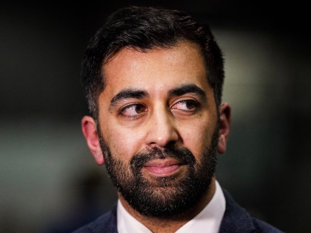 GLASGOW, SCOTLAND - DECEMBER 12: Humza Yousaf MSP attends the Glasgow election count at the SECC on December 12, 2019 in Glasgow, Scotland. The Scottish National Party (SNP) are expecting to return the highest number of seats in Scotland after the current Conservative Prime Minister Boris Johnson called the first …
