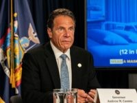 Gov. Cuomo Cancels Thanksgiving with His 89-Year-Old Mother