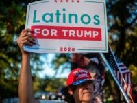 Data: Trump's Pro-Worker, Pro-Police Message Wins Over Hispanics