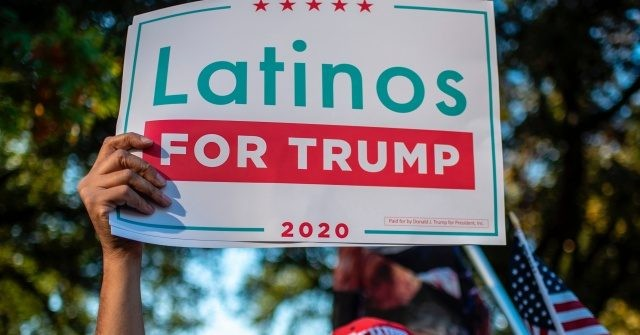 Data: Trump's Anti-Globalism, Pro-Police Message Wins Over Hispanics