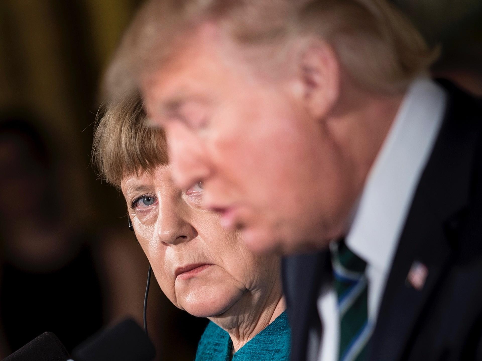 Merkel's Germany Tells Trump Not to Bring Troops Home from Afghanistan