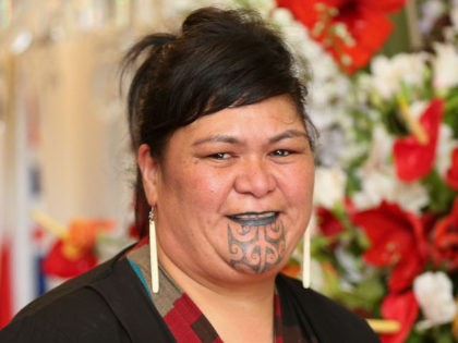 WELLINGTON, NEW ZEALAND - OCTOBER 26: Labour MP Nanaia Mahuta looks on during a swearing-in ceremony at Government House on October 26, 2017 in Wellington, New Zealand. After failing to win an outright majority in the general election on September 23, Labour entered into a coalition agreement with the New …
