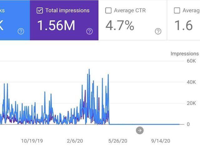 Google Biden Search Graph lead