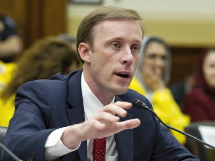 Former State Department Director of Policy Planning Jake Sullivan speaks during a hearing on Iran before the House Foreign Affairs Committee at Capitol Hill in Washington on Wednesday, Oct. 11, 2017. (AP Photo/Jose Luis Magana)