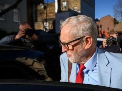 LONDON, ENGLAND - NOVEMBER 18: Former Labour party leader Jeremy Corbyn leaves his home on November 18, 2020 in London, England. Corbyn, former Labour Leader and MP for Islington North was suspended by the current Labour leader, Sir Keir Starmer, for downplaying the findings of the the Equalities and Human …
