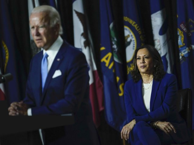 Joe Biden and Kamala Harris (Drew Angerer / Getty)