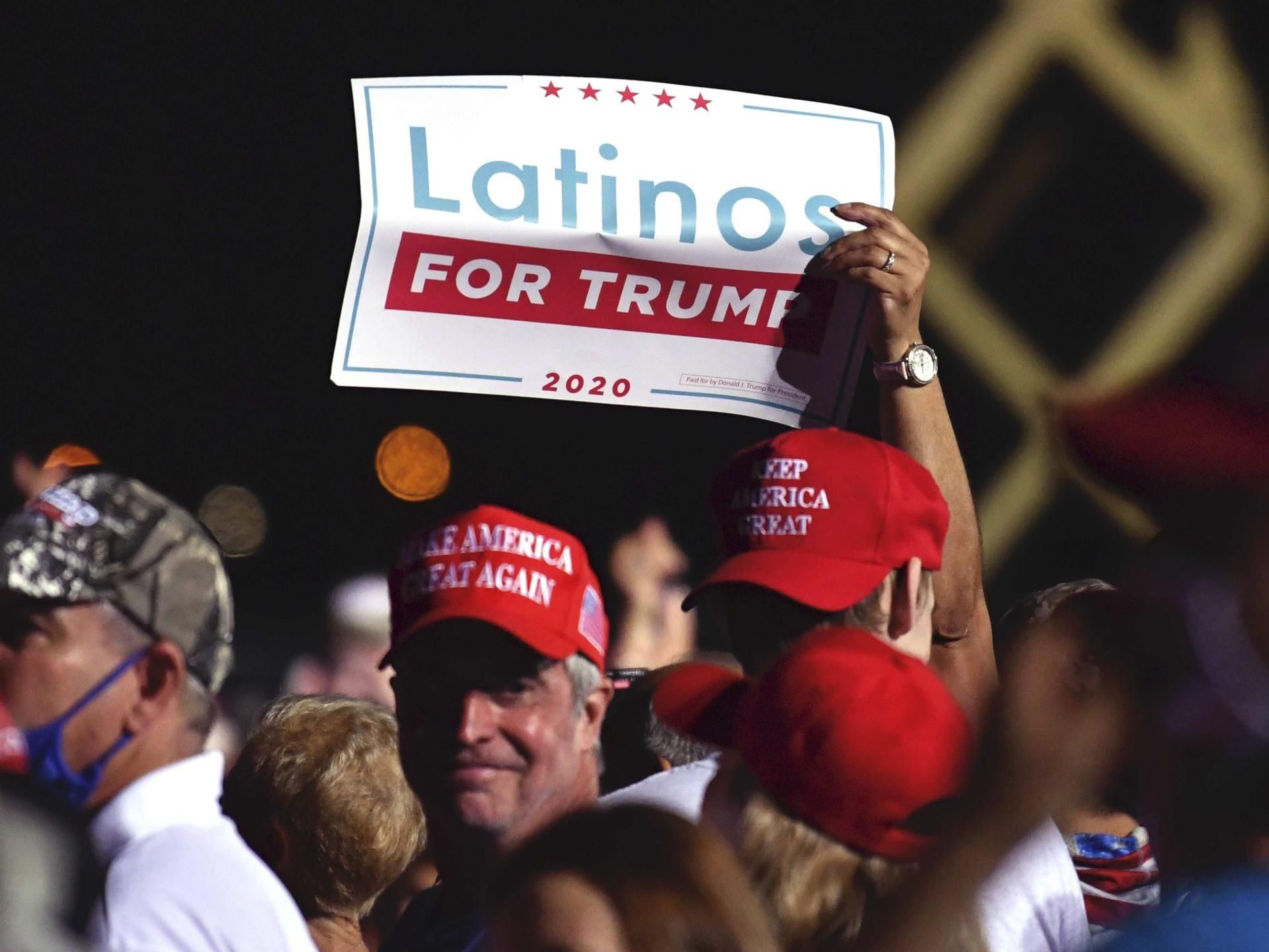 Latinos for Trump (Jim Rassol / Associated Press)