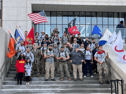 Veterans from the University of Alabama and Auburn University united as one last week to march 150 miles to raise awareness for the 22 veterans lost each day to suicide.