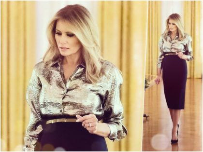 First Lady Melania Trump unveiled this year's White House Christmas …