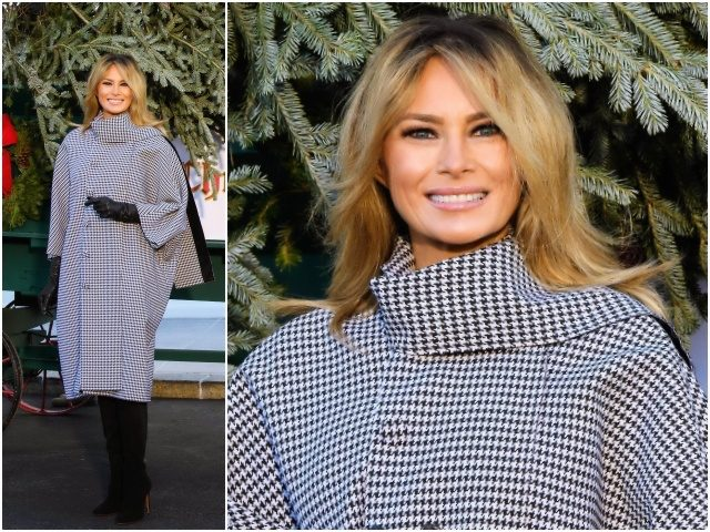 Fashion Notes: Melania Trump Is Holiday Du Jour in Balenciaga Bubble Coat