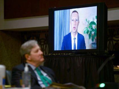 Mark Zuckerberg on TV
