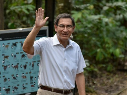 LETICIA, COLOMBIA - SEPTEMBER 06: President of Peru Martin Vizcarra waves as he arrives for the inauguration of the Summit of Presidents for the Amazon on September 06, 2019 in Leticia, Colombia. Summit involves all the South American countries that share the Amazon Rainforest (Brazil, Peru, Colombia, Venezuela, Ecuador, Bolivia, …