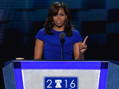 Michelle Obama 2016 (Saul Loeb / AFP / Getty)
