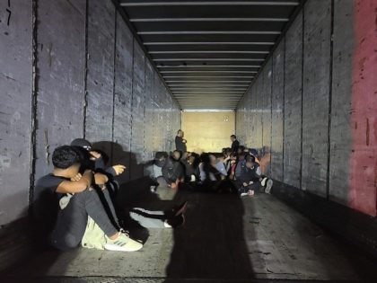 Border Patrol agents rescue 67 migrants locked in an abandoned trailer. (Photo: U.S. Border Patrol/Laredo Sector)