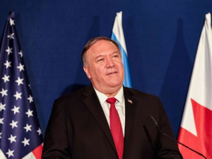 Mike Pompeo (Menahem Kahana / AFP / Getty)