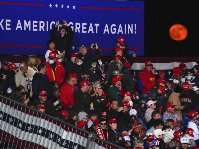 Moolit Georgia red moon (Brynn Anderson / Associated Press)