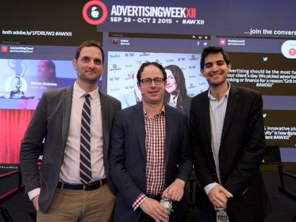 NEW YORK, NY - SEPTEMBER 30: FiveThirtyEight Politics Editor Michah Cohen, FiveThirtyEight Statistician, Author and Founder Nate Silver, and FiveThirtyEight Senior Political Writer and Analyst Harry Enten speak onstage at the Nate Silver and FiveThirtyEight: The Election Playoff Preview panel presented by ESPN during Advertising Week 2015 AWXII at Nasdaq …