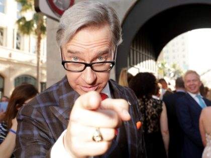"Paul Feig is seen at the Los Angeles Premiere of Columbia Pictures' ""Ghostbusters"" at TCL Chinese Theatre on Saturday, July 9, 2016, in Los Angeles. (Photo by Eric Charbonneau/Invision for Sony/AP Images)"